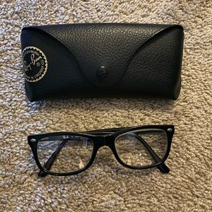 Ray Ban RB5338 Black Prescription Glasses w Case